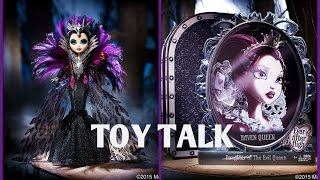 getlinkyoutube.com-Toy Talk - Raven Queen San Diego Comic Con 2015 Exclusive Ever After High Doll