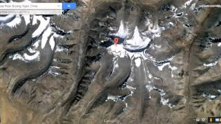 getlinkyoutube.com-Lord Shiva's mount kailash view from satellite map in Google Earth