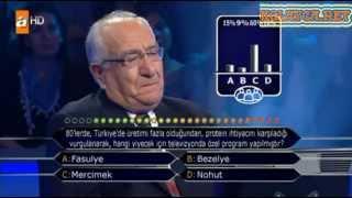 Kim milyoner olmak ister 204. bölüm 12.04.2013 İbrahim Bülent Görgün