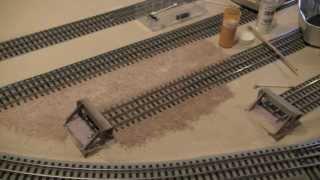 getlinkyoutube.com-LCJ&I Lines, 19. Building a FasTrack rail yard