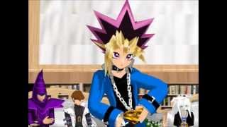 getlinkyoutube.com-{MMD} Yu-Gi-Oh Karaoke Episode 5 Yugi and Dark Magician Girl Kiss Me