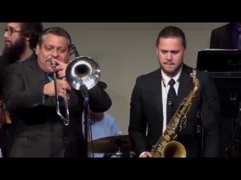 UNI Jazz Band One with Luis Bonilla - Feb. 20, 2016