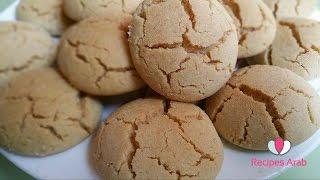 """getlinkyoutube.com-تحضير غريبة البهلة المغربية الاصلية مع سر التشقق """"حلويات العيد """""""