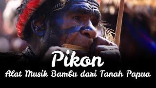 Pikon, Alat Musik Bambu dari Tanah Papua