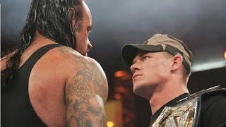 getlinkyoutube.com-#مباراة_اسطورية3  - اندرتيكر ضد جون سينا - من افضل المواجهات في تاريخ المصارعة الحرة