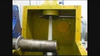 Pelton water turbine, 715 kVA