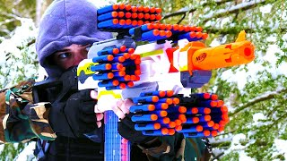 getlinkyoutube.com-Nerf War: TWO MILLION SUBSCRIBERS