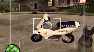 Zip SP 180 cc - Runner 70cc Gta San Andreas Mod