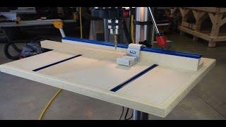 getlinkyoutube.com-How to Build a Drill Press Table Pt 2