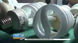 IMS - Dokter lampu di Indramayu buat lampu bekas jadi bermanfaat
