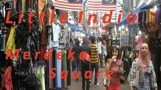 Kuala Lumpur -  Little India - Merdeka Square
