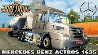 getlinkyoutube.com-Euro Truck Simulator 2 MERCEDES BENZ ACTROS 1635