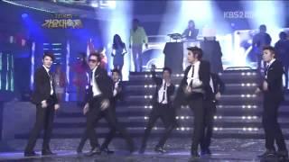 getlinkyoutube.com-111230 Super Junior   INFINITE   4minute   fx   Shuffle Dance on 2011 KBS Music Festival 720