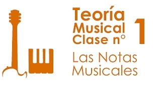 Teoría Musical: Clase 1, Las Notas Musicales