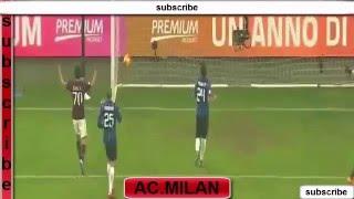 getlinkyoutube.com-M'Baye Niang Goal  AC Milan vs Inter Milan 3-0 Serie A 31/1/2016