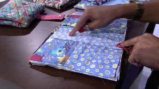 getlinkyoutube.com-Mulher.com 30/01/2015 Néia Rocha - Estojo escolar patchwork