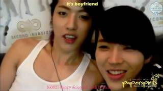 getlinkyoutube.com-[I♥NWH_VN] [FMV] Happy 26th Sungyeol Day- Woohyun and Sungyeol moment