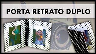 getlinkyoutube.com-DIY: Porta Retrato Duplo - Fácil, Barato e Lindo