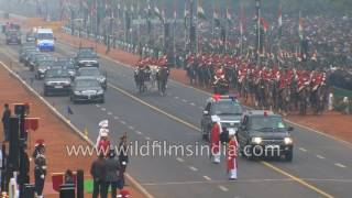 India's 68th Republic Day 2017 - Part 1 - National and foreign leaders arrive