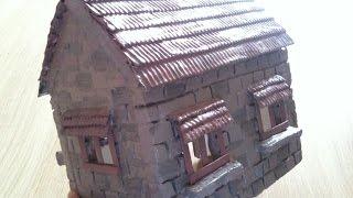 getlinkyoutube.com-طريقة صنع بيت من الفلين اشغال يدوية  polystyrene