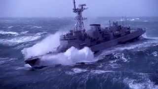 getlinkyoutube.com-Navi nella Tempesta - Ship in Storm