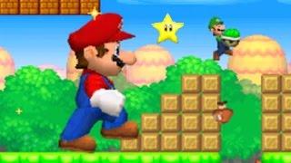 getlinkyoutube.com-New Super Mario Bros. DS - Mario Vs. Luigi Mode #3 (All Courses)