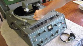 getlinkyoutube.com-Cutting a 78 rpm Record