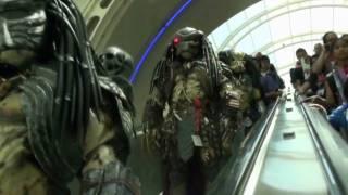 Predator Fun at San Diego Comic Con 2009