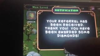 My Singing Monsters - 999,999,999 Diamonds - WITH PROOF