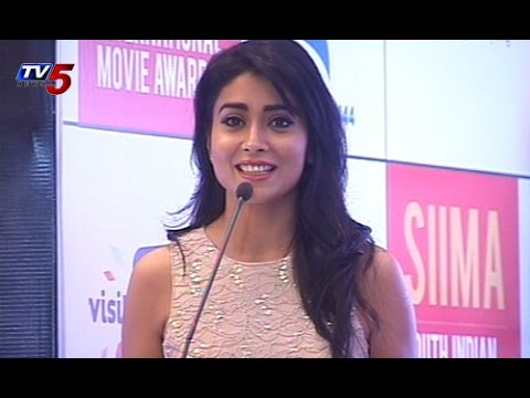 Rana,Shriya Saran Brand Ambassadors of SIIMA 2014 : TV5 News