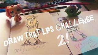 getlinkyoutube.com-Draw that Lps challenge #2 [Human Form]