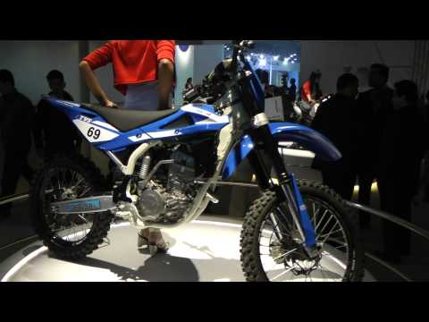 TVS RTR 250 fx at the Auto Expo 2012
