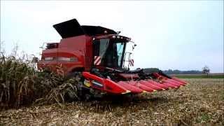 getlinkyoutube.com-Case IH Axial Flow 6088-Corn Harvest 2013