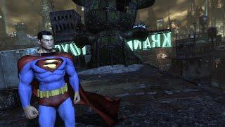 getlinkyoutube.com-Batman: Arkham City: Superman Mod!