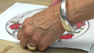 getlinkyoutube.com-Homemade How-To's  With Carol Endler Sterbenz: Decoupage Plates