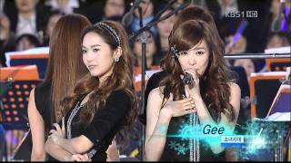 getlinkyoutube.com-1080p SNSD 110514 Hoot + Gee @ 2018年平昌冬季申奧
