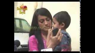 getlinkyoutube.com-On location of TV Serial ''Qubool Hai'' Romance flourishing between Zoya & Asad Part 4