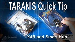 getlinkyoutube.com-TARANIS Quick Tip - X4R Receiver (S-Bus and Smart Port) and Sensor Hub from Banggood.com