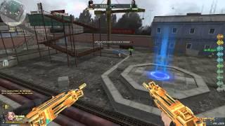 getlinkyoutube.com-[Truy Kich] Game Play: Dual Uzi Gold & Gold Python VaiLinhHon (Kênh Chính Thức)