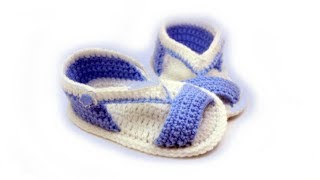 DIY baby booties crochet //Vasilisa