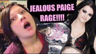 RAGING WIFE DESTROYS PAIGE WWE HOODIE THROWS IN TOILET!