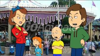 getlinkyoutube.com-caillou turns disney world into deadsny world/defenestrated