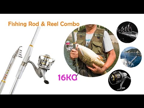 Lake Pond River Fishing- Rod & Reel Combos Ultralight Baitcasting Fishing Pole !