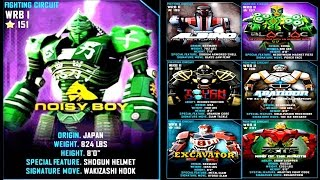 getlinkyoutube.com-Real Steel WRB Noisy Boy VS WRB II ROBOTS Series of fights NEW ROBOT (Живая Сталь)