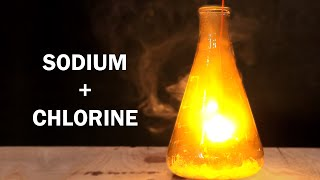 getlinkyoutube.com-How to make Table Salt!  - Reaction of Sodium and Chlorine