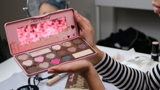getlinkyoutube.com-Eye Swatches || Too Faced Chocolate Bon Bons Palette