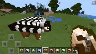 getlinkyoutube.com-รีวิว มอด : ไดโนเสาร์ เต่าล้านปี - Jurassic Pocket Mod | Minecraft PE 0.13.0