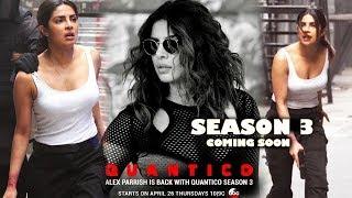 Priyanka Chopra -Quantico Season 3 first promo