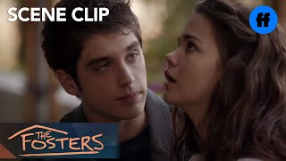 getlinkyoutube.com-The Fosters | 2x10 (SUMMER FINALE) Brandon & Callie Kiss| Freeform