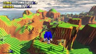 getlinkyoutube.com-Sonic GDK Green Hill Paradise